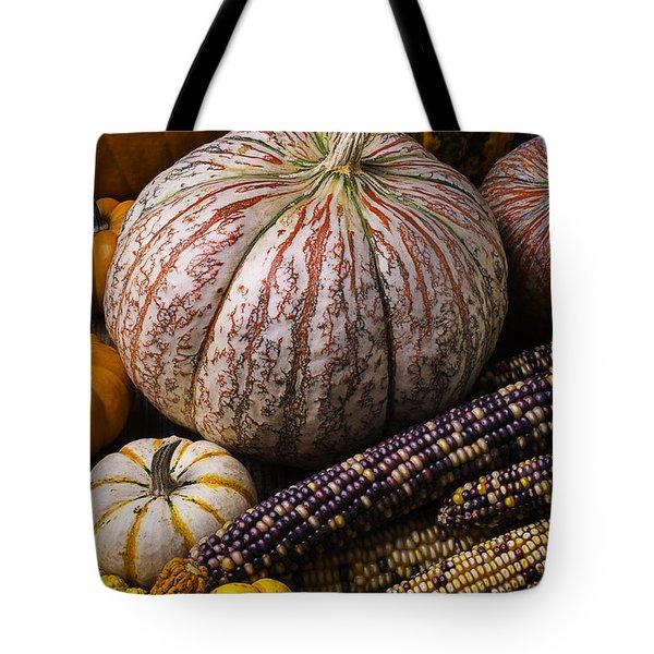 A Wonderful Autumn Harvest Tote Bag