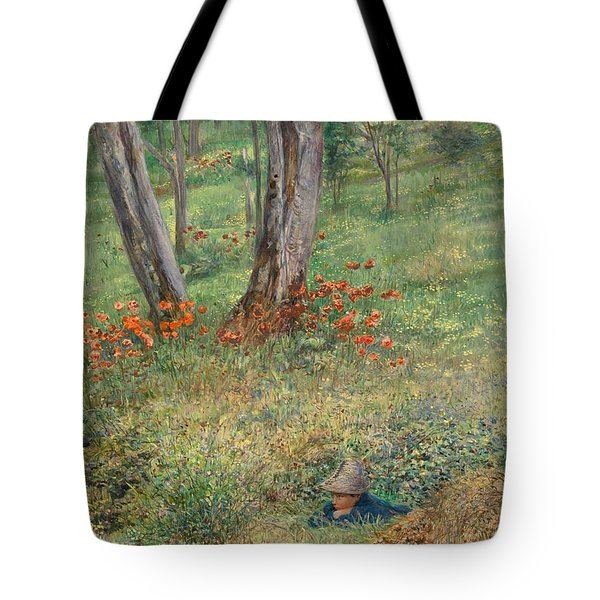 A Woodland Hideout  Tote Bag by Giovanni Costa