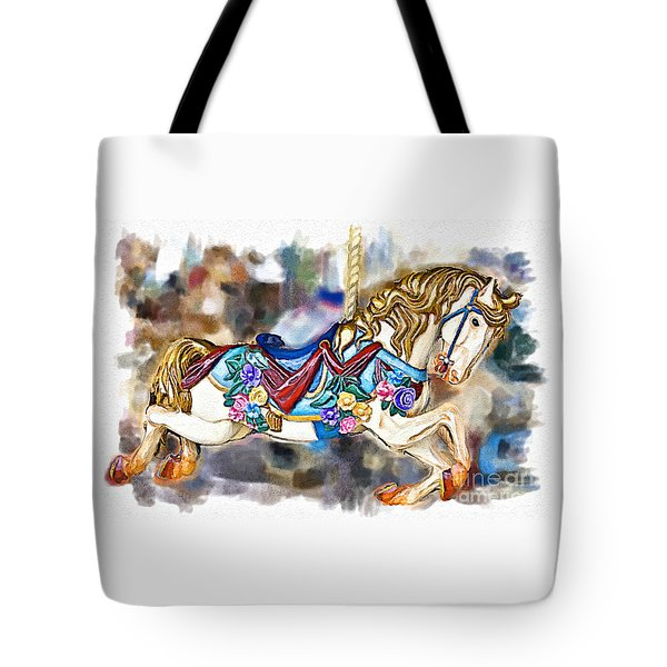 A World Of Popcorn And Candy Tote Bag