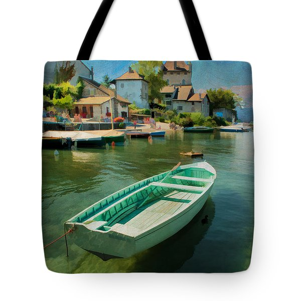 A Yvoire - France Tote Bag by Jean-Pierre Ducondi