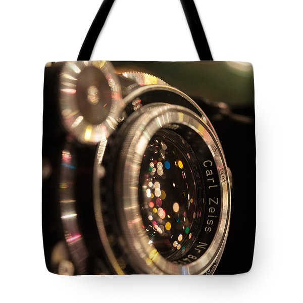 A Zeiss Christmas Tote Bag by Aaron Aldrich