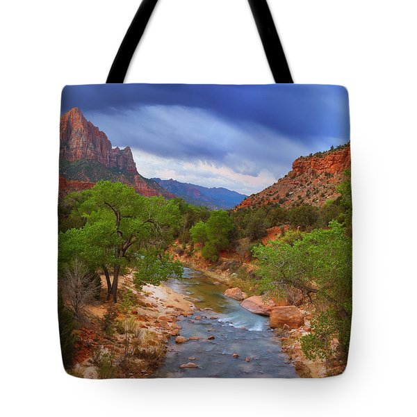 A Zion Morning Tote Bag