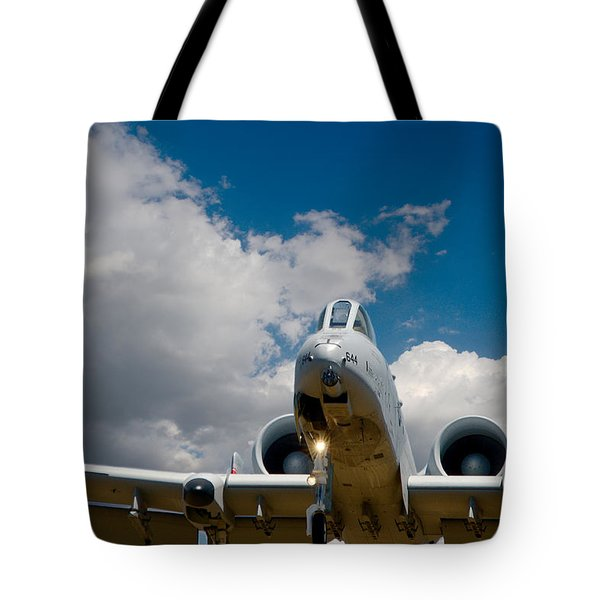 A10 Warthog Approach Landing Tote Bag