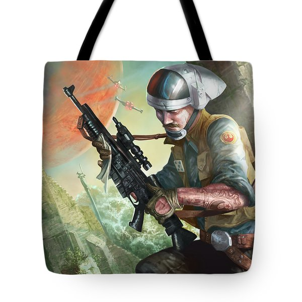 A280 Blaster Rifle  Tote Bag