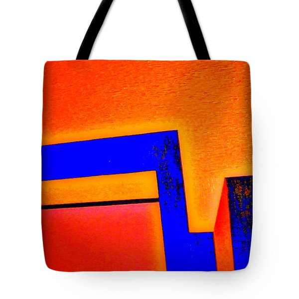 Tote Bag featuring the painting Manhattan Nocturne 66 by Bill OConnor