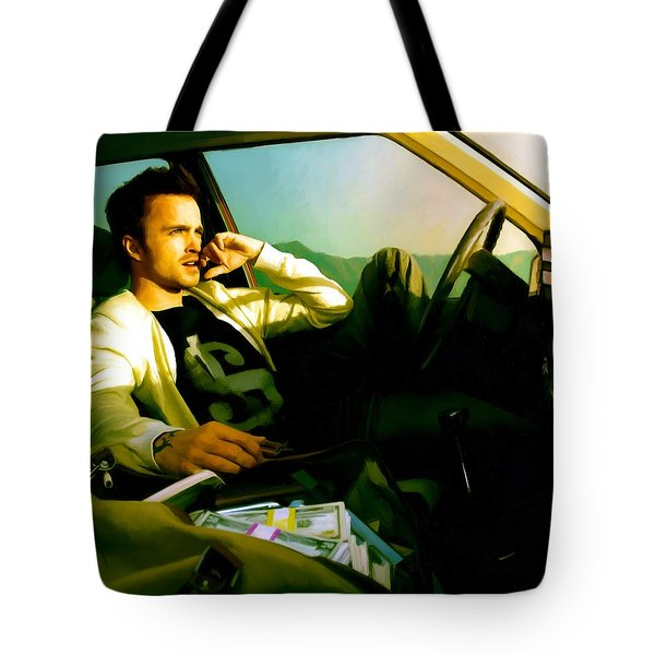 Aaron Paul Tote Bag