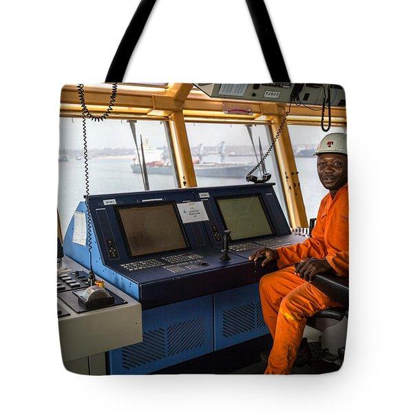 Ab Seated At Dp Panel Tote Bag