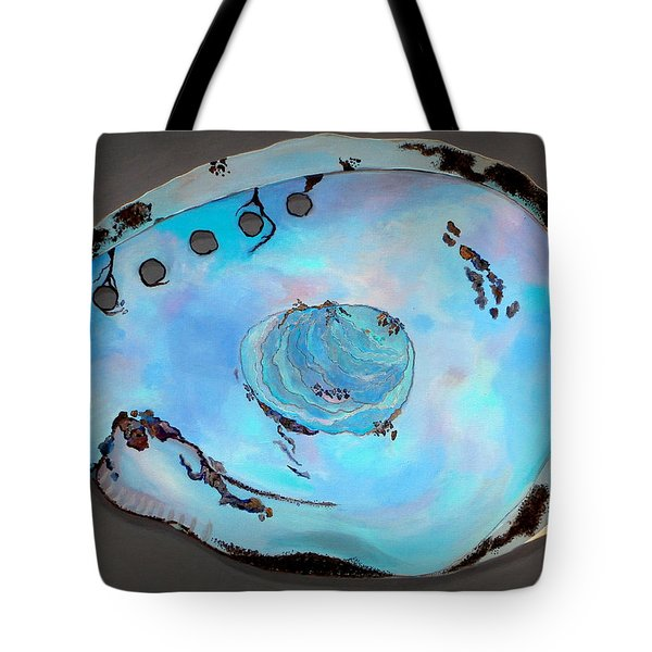 Abalone Sea Shell Tote Bag