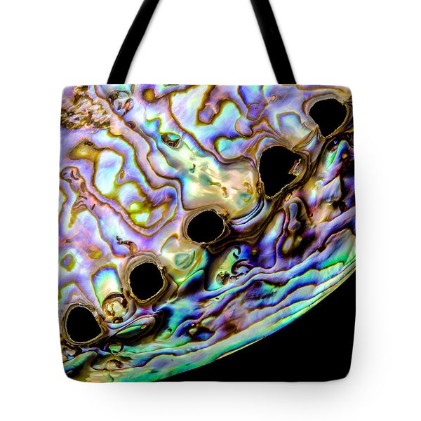 Abalone Shell Closeup Tote Bag