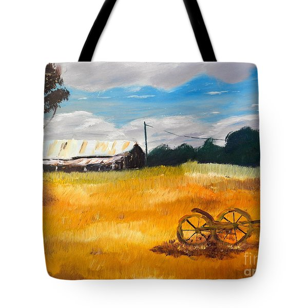 Abandon Farm Tote Bag