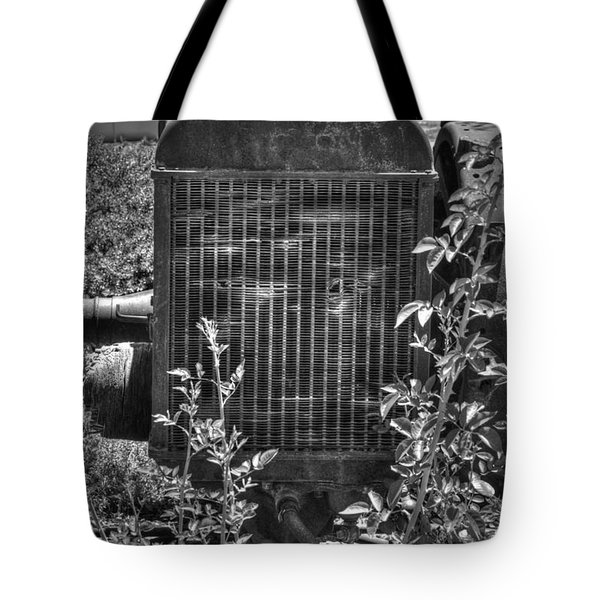 Abandon Tractor Tote Bag by Diego Re