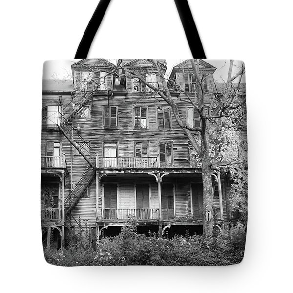 Abandoned 8284 Tote Bag by Guy Whiteley