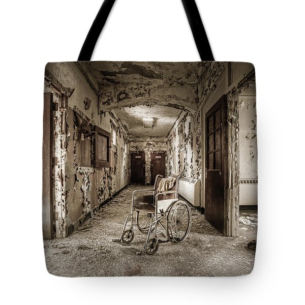 Abandoned Asylums - What Has Become Tote Bag
