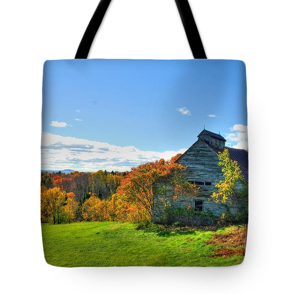 Abandoned Barn Tote Bag by Alana Ranney