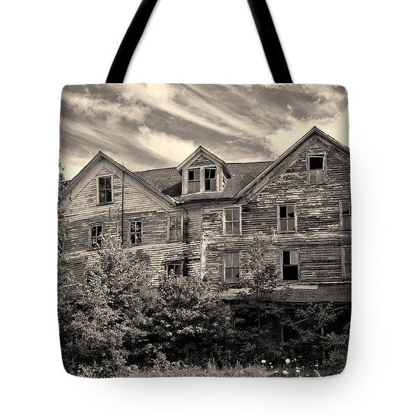 Abandoned But Awesome Tote Bag