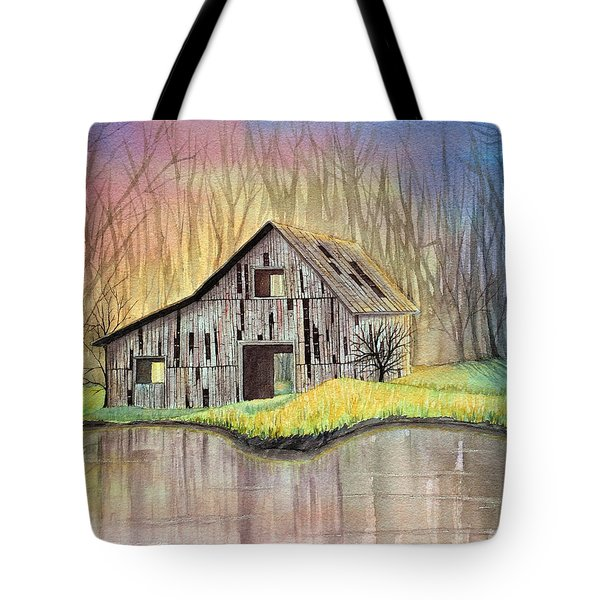 Abandoned By The Water Tote Bag