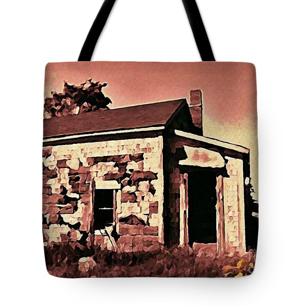 Abandoned Cape Breton House Tote Bag by John Malone