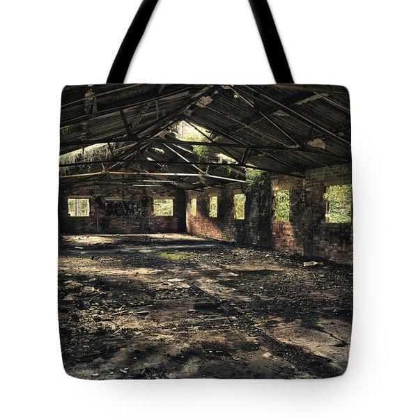 Abandoned Tote Bag by Amanda Elwell