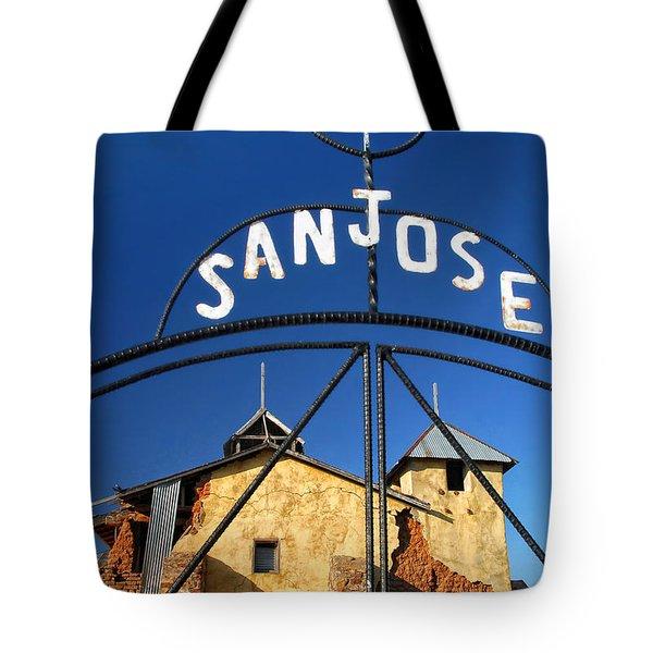 Abandoned Colonias Church Tote Bag