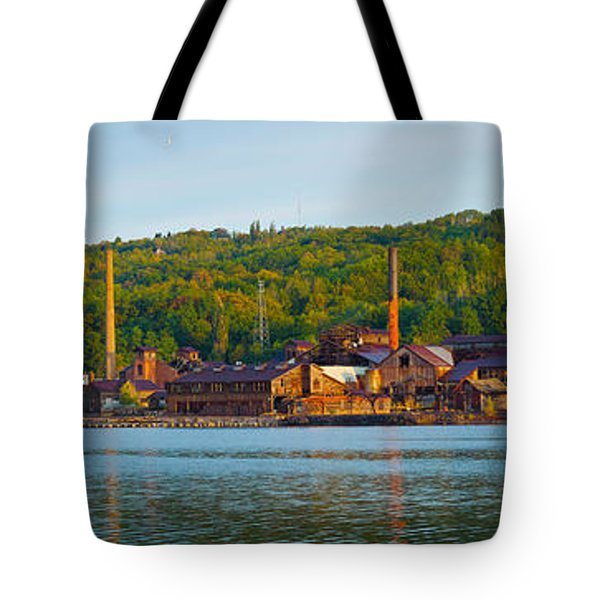 Abandoned Copper Tote Bag