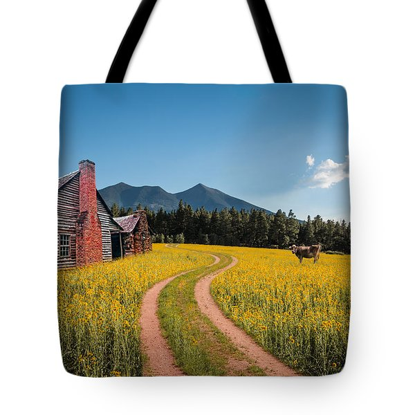 Abandoned Country Life Tote Bag