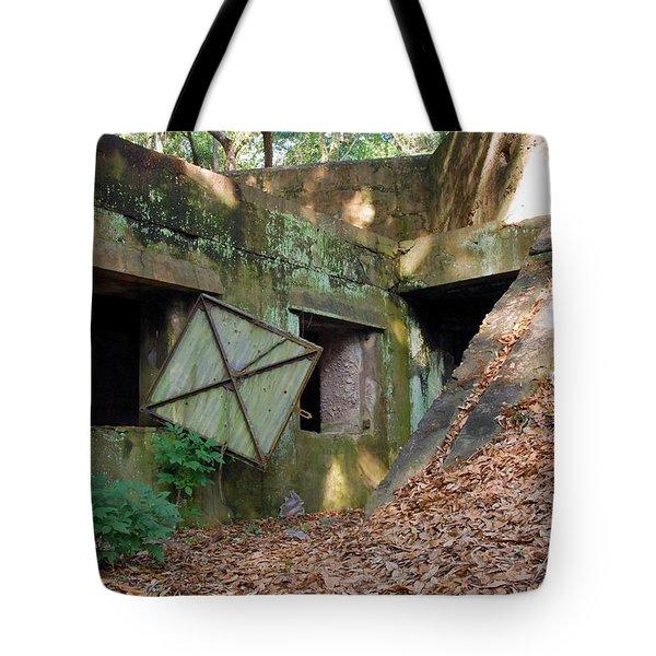 Abandoned Halls Tote Bag