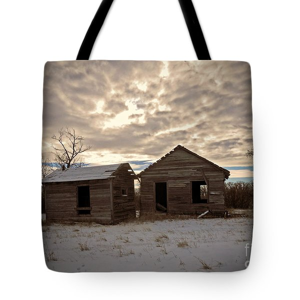 Abandoned History Tote Bag by Desiree Paquette