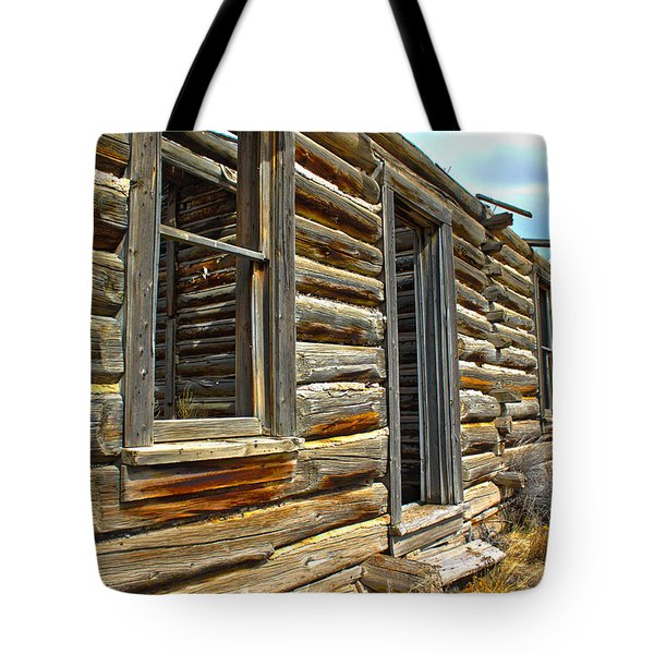 Abandoned Homestead Tote Bag by Shane Bechler