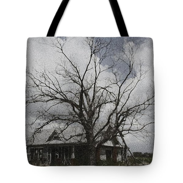 Abandoned House Tote Bag by Donna G Smith