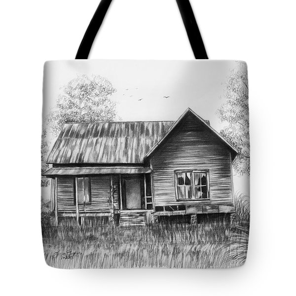 Abandoned House Tote Bag by Lena Auxier