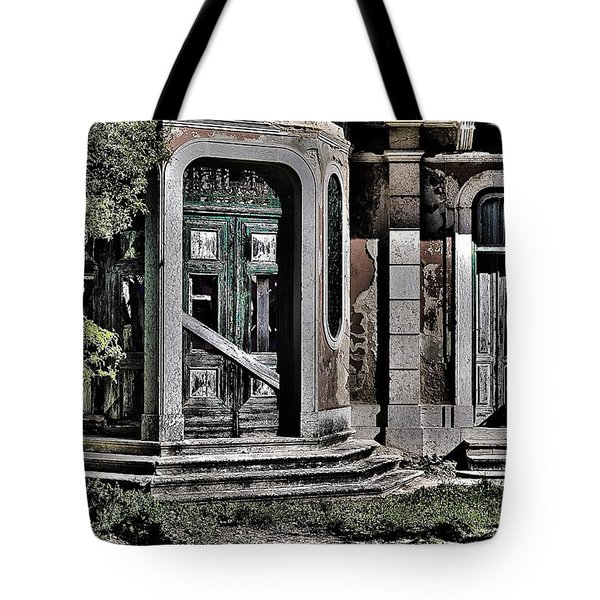 Abandoned House Tote Bag by Marco Oliveira