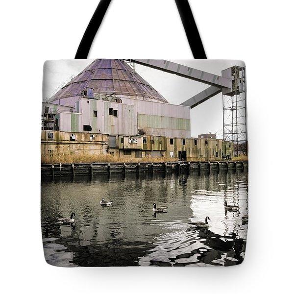 abandoned - Industrial - Swan song Tote Bag