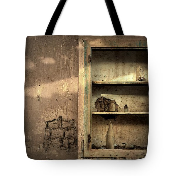 Abandoned Kitchen Cabinet Tote Bag