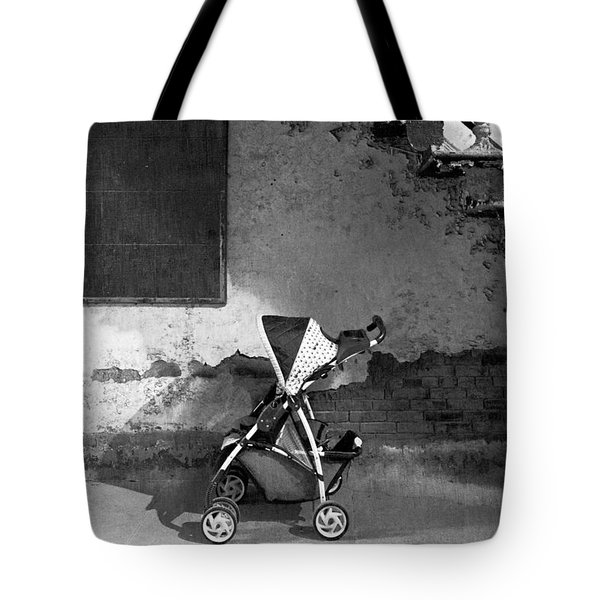 Abandoned - Left Behind  Tote Bag by Mike Savad