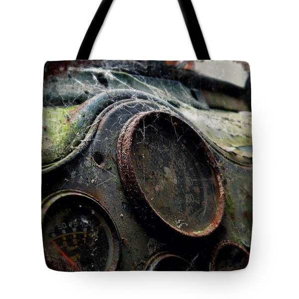 Tote Bag featuring the photograph Abandoned by Micki Findlay