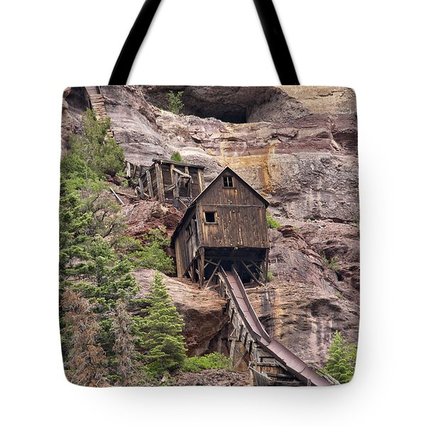 Abandoned Mine Tote Bag