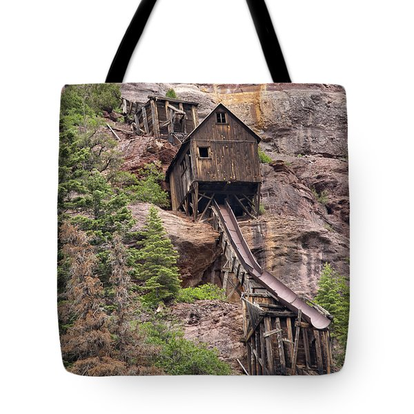 Abandoned Mine Tote Bag by Melany Sarafis