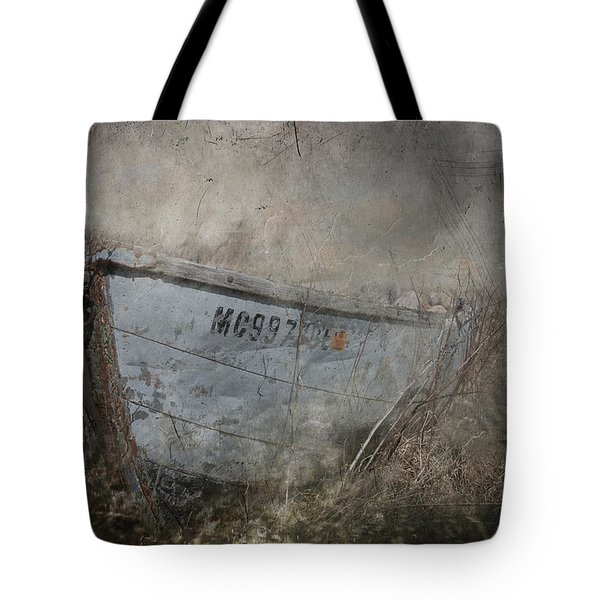 Abandoned On Sugar Island Michigan Tote Bag