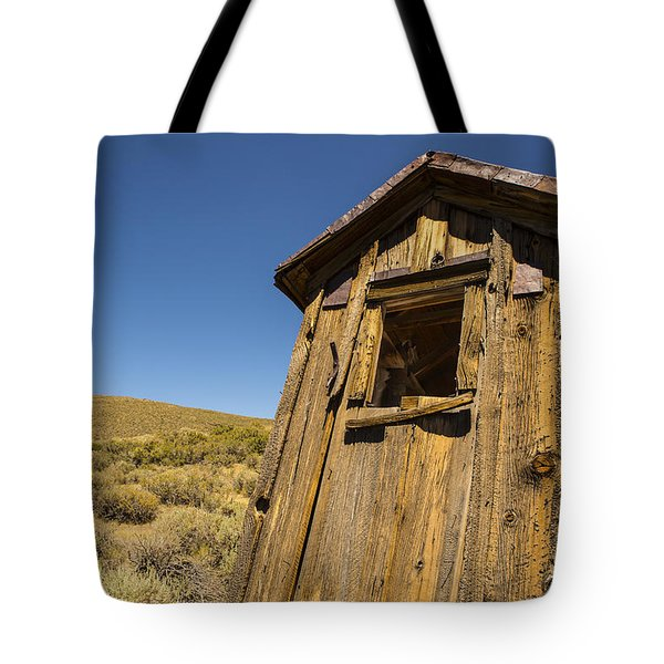 Abandoned Outhouse Tote Bag