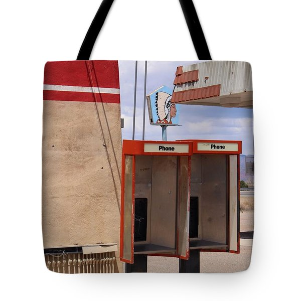 Abandoned Phone Booths Tote Bag by Suzanne Lorenz