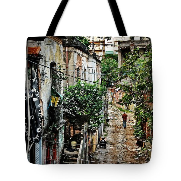 Abandoned Place In Sao Paulo Tote Bag