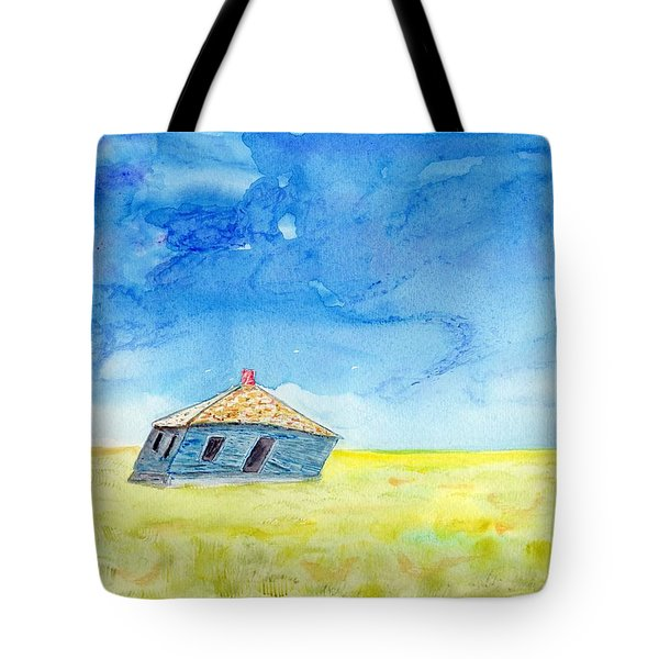 Abandoned Prairie Tote Bag