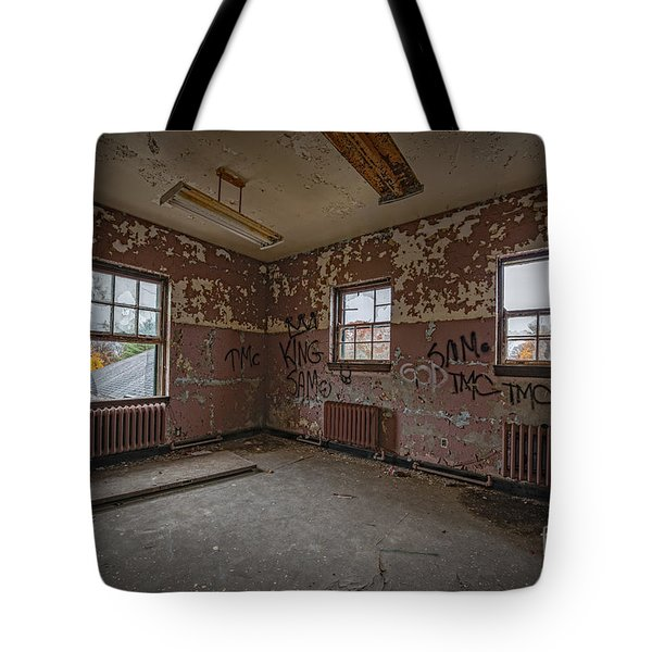 Abandoned Room At Letchworth Tote Bag
