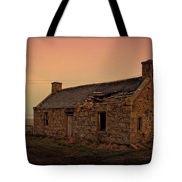 Abandoned Scottish Croft Tote Bag