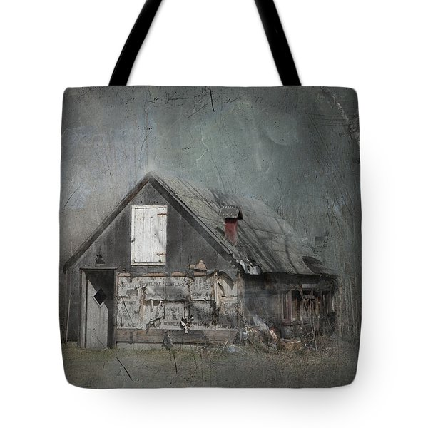 Abandoned Shack On Sugar Island Michigan Tote Bag by Evie Carrier