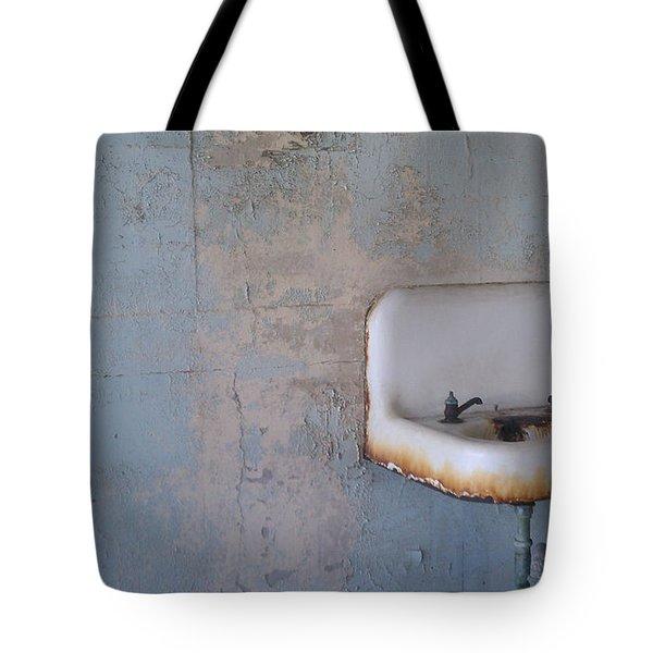 Abandoned Sink Tote Bag