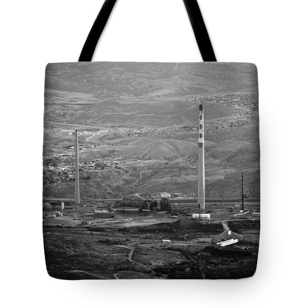 Abandoned Smokestacks Tote Bag