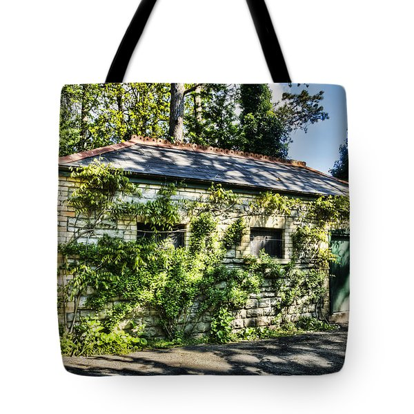 Abandoned Tote Bag by Steve Purnell