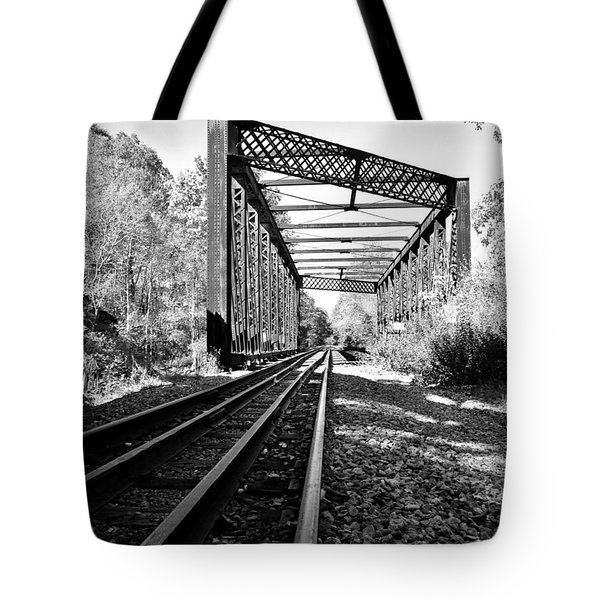 Abandoned Tracks Tote Bag