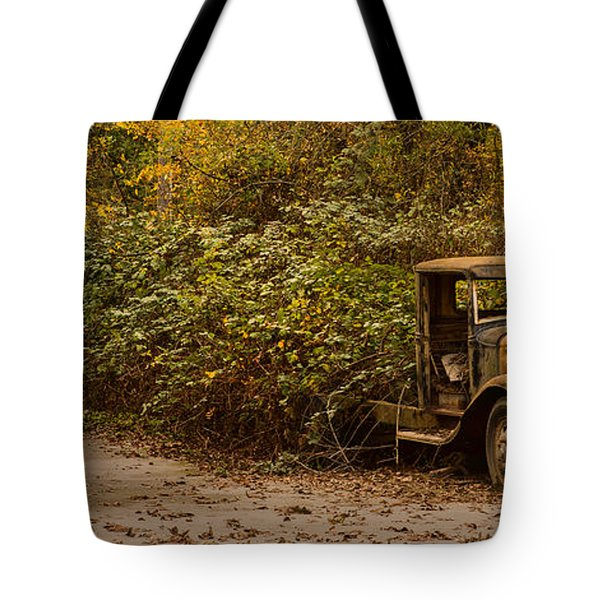 Abandoned Truck Tote Bag